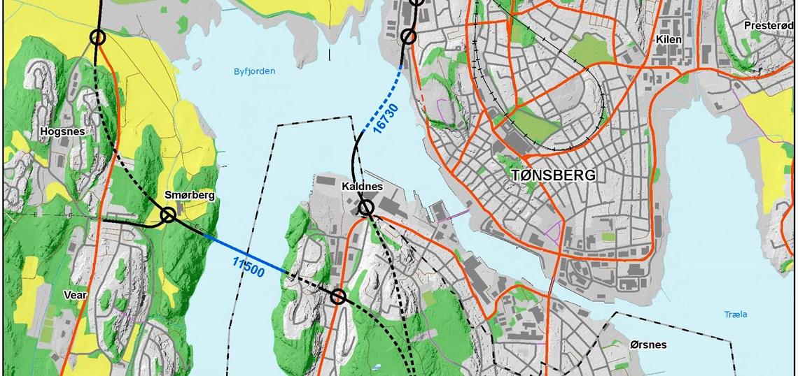 Bypakke Tonsberg Regionen Ny Fastlandsforbindelse